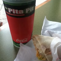 Photo taken at The Pita Pit by Michael G. on 2/12/2013
