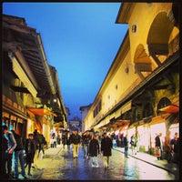 Photo taken at Ponte Vecchio by Abdullah Y. on 6/27/2013