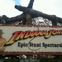 Photo taken at Indiana Jones Epic Stunt Spectacular! by Leonardo B. on 1/11/2013