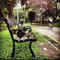 Photo taken at Lumphini Park by ALek@Mania on 1/6/2013