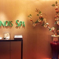 Photo taken at Chinois Spa by Jason S. on 10/31/2012