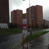 Photo taken at Poliklinika Barrandov (tram, bus) by Martin P. on 11/20/2013