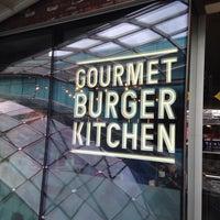 Photo taken at Gourmet Burger Kitchen by Janet B. on 7/13/2014