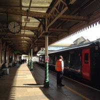 Photo taken at Weston-super-Mare Railway Station (WSM) by Janet B. on 9/24/2014
