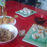 Photo taken at Sushi Time by Adriana G. on 1/11/2015