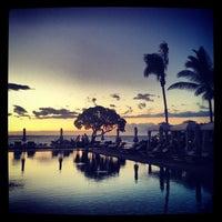 Photo taken at Four Seasons Resort Hualalai at Historic Ka`upulehu by Alex on 4/22/2012
