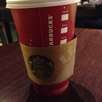Photo taken at Starbucks by Angel L. on 11/8/2013