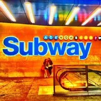 Photo taken at MTA Subway - 42nd St/Times Square/Port Authority Bus Terminal (A/C/E/N/Q/R/S/1/2/3/7) by Cris M. on 5/3/2013