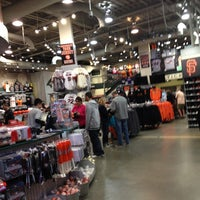 Photo taken at Giants Dugout Store by Daniel L. on 12/31/2012