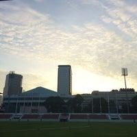 Photo taken at Thephasadin Stadium by ENUJ S. on 10/22/2016