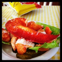 Photo taken at Geno's Chowder and Sandwich Shop by Rich on 4/29/2014