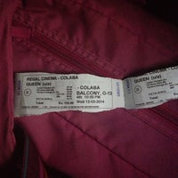 Photo taken at Regal Cinema by Megha J. on 3/12/2014
