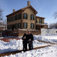 Photo taken at Lincoln Home National Historic Site by Steve S. on 3/26/2013