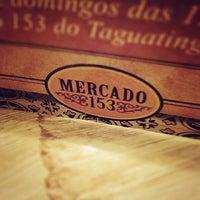 Photo taken at Mercado 153 by Rodrigo P. on 12/23/2012