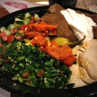 Photo taken at The Hummus & Pita Co by Billy T. on 10/10/2012