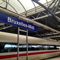 Photo taken at Brussels-South Railway Station (ZYR) by Kristof D. on 5/2/2013