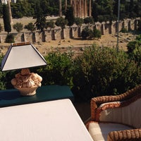Photo taken at Athens Gate Roof Garden by .................... .. on 9/15/2015