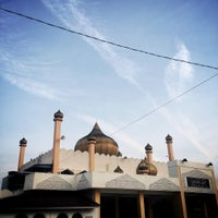 Photo taken at Masjid Bandar Baharu by Amad J. on 7/16/2015