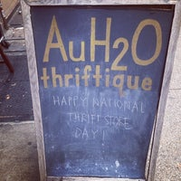 Photo taken at AuH2O Thriftique by jaz on 8/15/2014