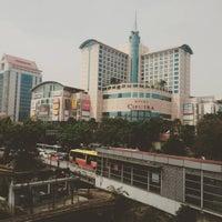 Photo taken at Halte TransJakarta Grogol 1 by Andy A. on 12/2/2015