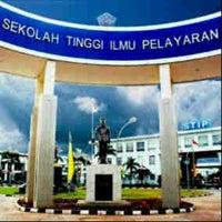 Photo taken at Sekolah Tinggi Ilmu Pelayaran (STIP) Marunda by Vallenzya N. on 3/14/2014