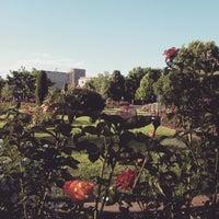Photo taken at Julia Davis Rose Garden by Ben W. on 6/22/2015