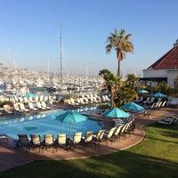 Photo taken at Kona Kai Resort Spa & Marina by Bryan H. on 1/23/2014