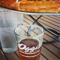 Photo taken at Oggi's Pizza & Brewing Company by Michael K. on 3/9/2014