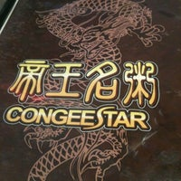 Photo taken at Congee Star 帝王名粥 by Kira C. on 4/6/2012