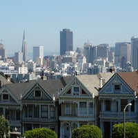 Photo taken at Painted Ladies by Paul G. on 4/22/2014