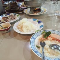 Photo taken at Rub Lom Seafood by Ying A. on 4/26/2016