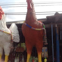 Photo taken at ไก่ย่างวังเพลิง by Pimpaporn I. on 12/14/2013