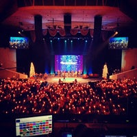 Photo taken at Dream City Church by Aaron P. on 12/25/2012