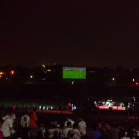 Photo taken at Stadion Siliwangi by Raden G. on 10/25/2014