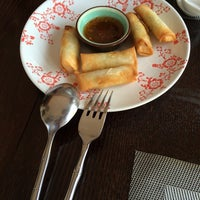 Photo taken at GINGER | ķīniešu virtuve, suši bārs by Rita V. on 4/21/2014