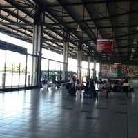 Photo taken at Terminal Rodoviário Internacional de Itajaí (TERRI) by Nahor L. on 3/25/2014