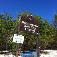 Photo taken at Lime Cay by Steven G. on 4/4/2013