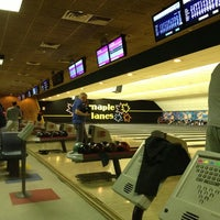 Photo taken at Maple Lanes by Jeremy B. on 1/31/2013