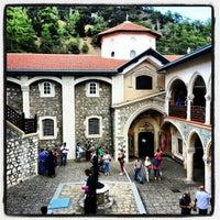 Photo taken at Kykkos Monastery by Māris T. on 10/25/2012