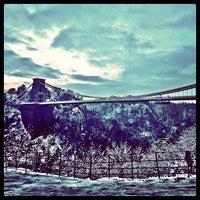Photo taken at Clifton Suspension Bridge by Bence S. on 1/21/2013