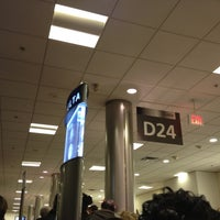 Photo taken at Gate D24 by hiromi k. on 4/13/2013