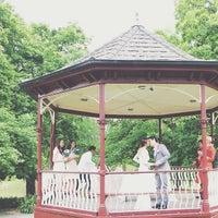 Photo taken at Canterbury Gardens by Ruriya S. on 11/4/2014