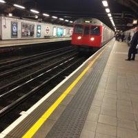 Photo taken at Euston Square London Underground Station by Brian B. on 4/17/2013