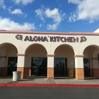 Photo taken at Aloha Kitchen by Bennett A. on 1/27/2013