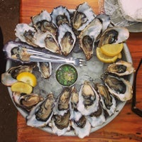 Photo taken at Hog Island Oyster Farm by Noel C. on 2/3/2013