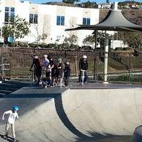 Photo taken at Santa Clarita Skate Park by ChiHye T. on 12/29/2013