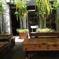 Photo taken at Loreley Restaurant & Biergarten by Christopher F. on 5/16/2013