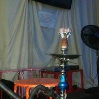 Photo taken at Qush Hookah Lounge by Stephen F. on 5/13/2013