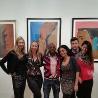 Photo taken at Pop International Galleries by Ungie on 11/11/2014