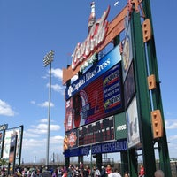 Photo taken at Coca-Cola Park by Chris P. on 4/24/2013